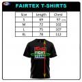 FAIRTEX TST51 FIGHT TEAM ФУТБОЛКА ТАЙСКИЙ БОКС BLACK