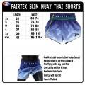 Шорты для Тайского Бокса FAIRTEX BS1905 Fade Blue