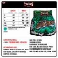 Шорты для тайского бокса Twins Special TWS-865-3Размер XL