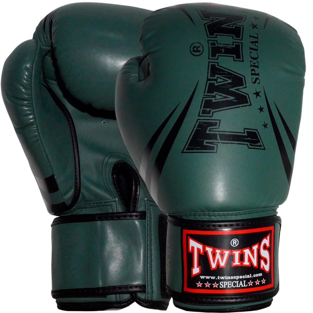 Боксерские ПерчаткиTWINS FBGVSD-3-TW-6 PK Микрофибра Gray