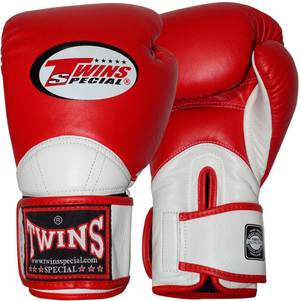 Боксерские перчаткиTWINS BGVL-11 Red-White