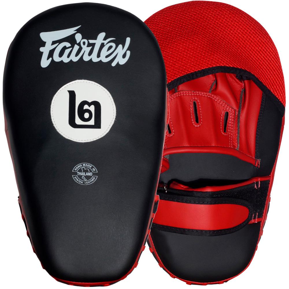 """Лапы Fairtex """"Cardio"""" FMV12 Black-Red"""