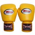 Боксерские Перчатки Twins Special BGVL3 Желтые 12 oz