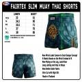 Fairtex Slim Cut BS1915 Green China