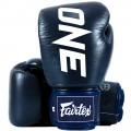 Боксерские Перчатки Fairtex BGV1 ONE Blue