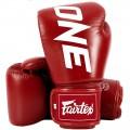 Боксерские Перчатки Fairtex BGV1 ONE Red
