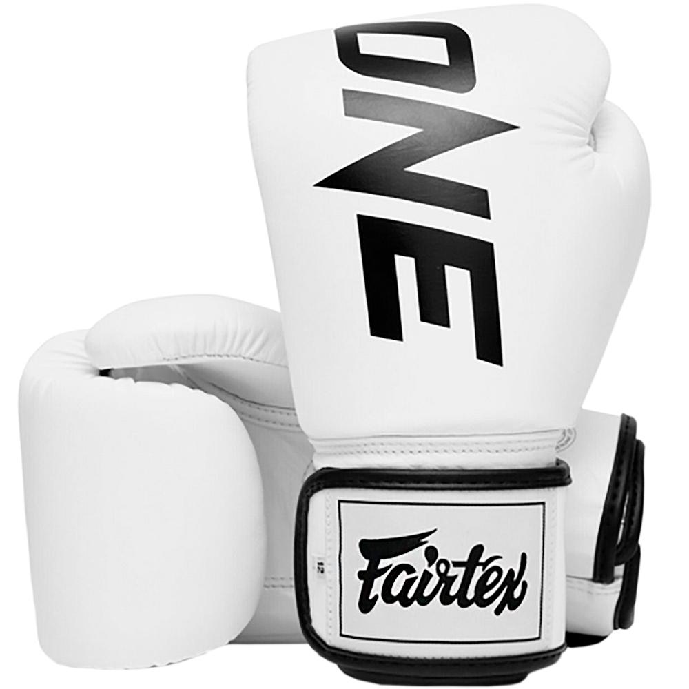 Боксерские Перчатки Fairtex BGV1 ONE White