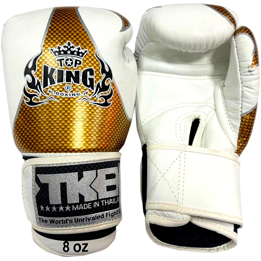 Боксерские Перчатки Top King Empower Creativity TKBGEM-01 White-Gold