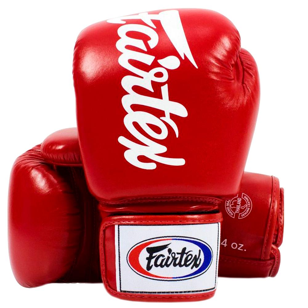 Боксерские Перчатки Fairtex BGV19 Deluxe Tight-Fit Gloves Red