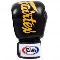 Боксерские Перчатки Fairtex BGV19 Deluxe Tight-Fit Gloves Black