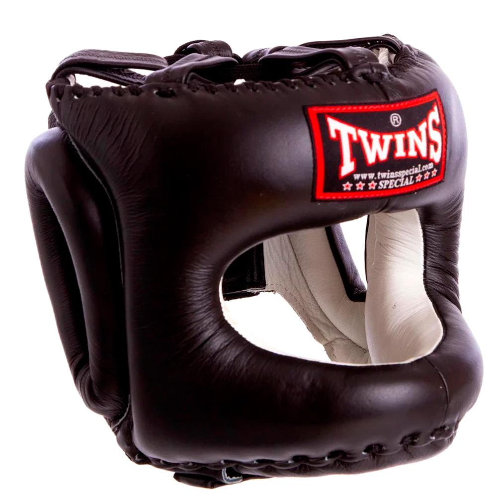 Боксерский шлем TWINS HGL-10 Black