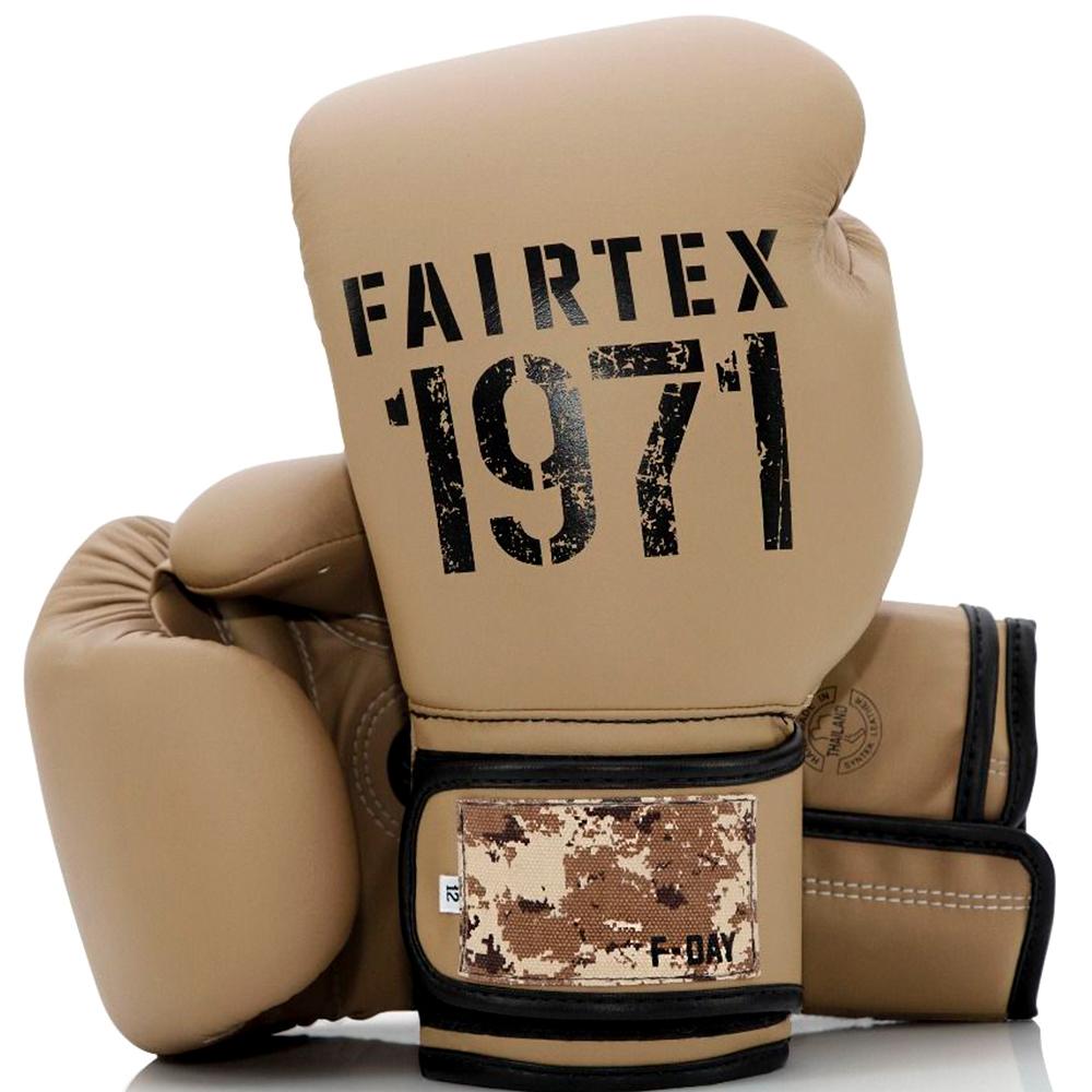 Боксерские Перчатки Fairtex BGV25 F-DAY2 Green Army