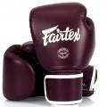 Боксерские Перчатки Fairtex BGV16 Woman Real Leather Maroon