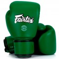 Боксерские Перчатки Fairtex BGV16 Woman Real Leather Forrest Green