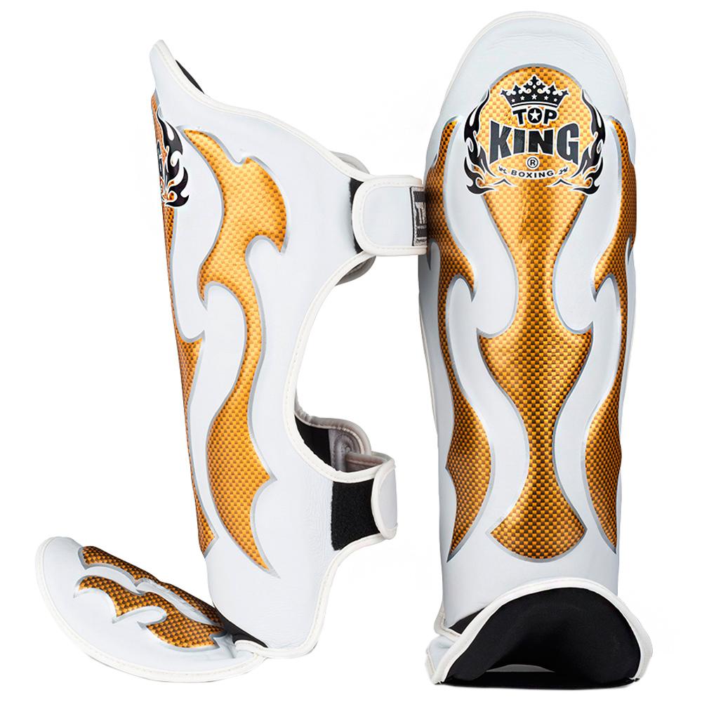 Щитки Top King EMPOWER CREATIVITY White-Gold
