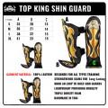 Накладки для тайского бокса Top King Empower Creativity Black Silver