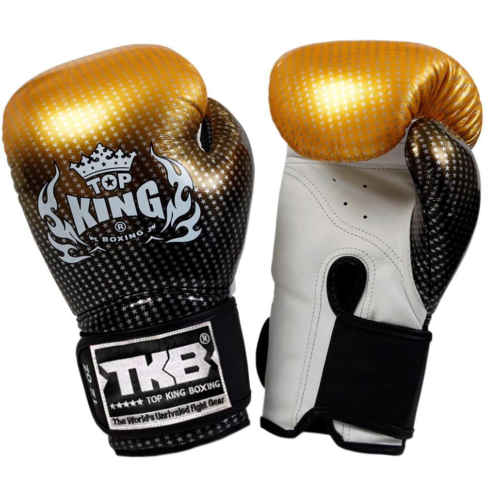 Боксерские перчатки Топ Кинг Super Star Gold