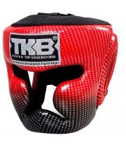 Боксерский шлем Top King Super Star Red