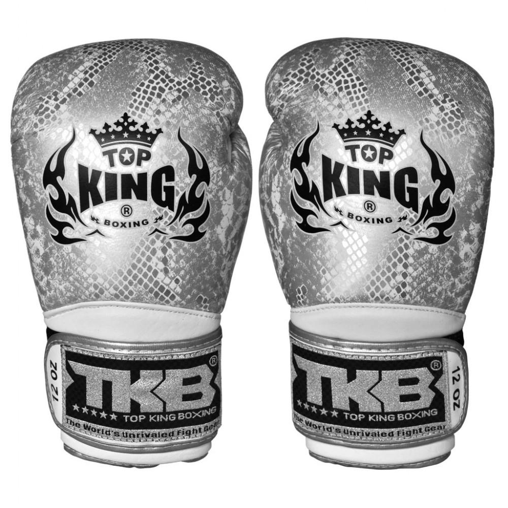 Боксерские Перчатки Top King TKBGSS-02 SV White Silver