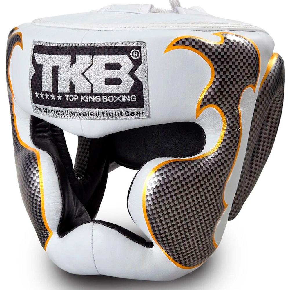 Боксерский шлем Top King Empower White-Silver