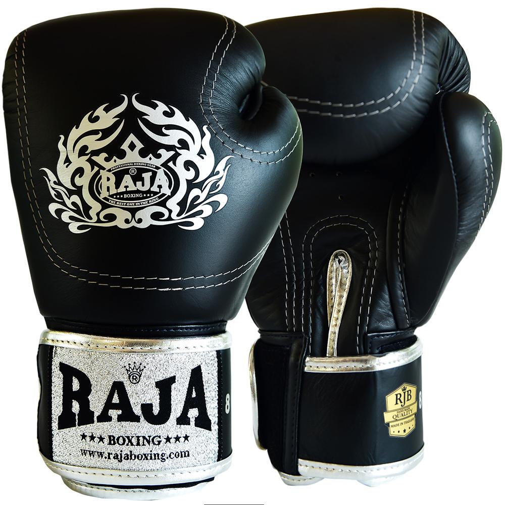 БоксерскиеПерчатки RajaDouble LineBlack