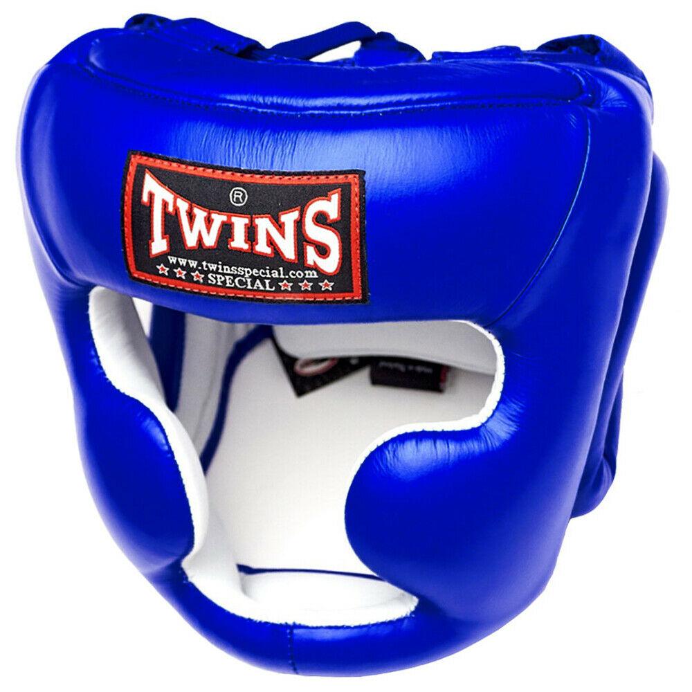 Боксерский шлем Twins HGL-3 Синий