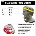 Боксерский шлем TWINS TW5 Red