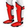 Защита голени и стопы Twins Special SGL10 Красные