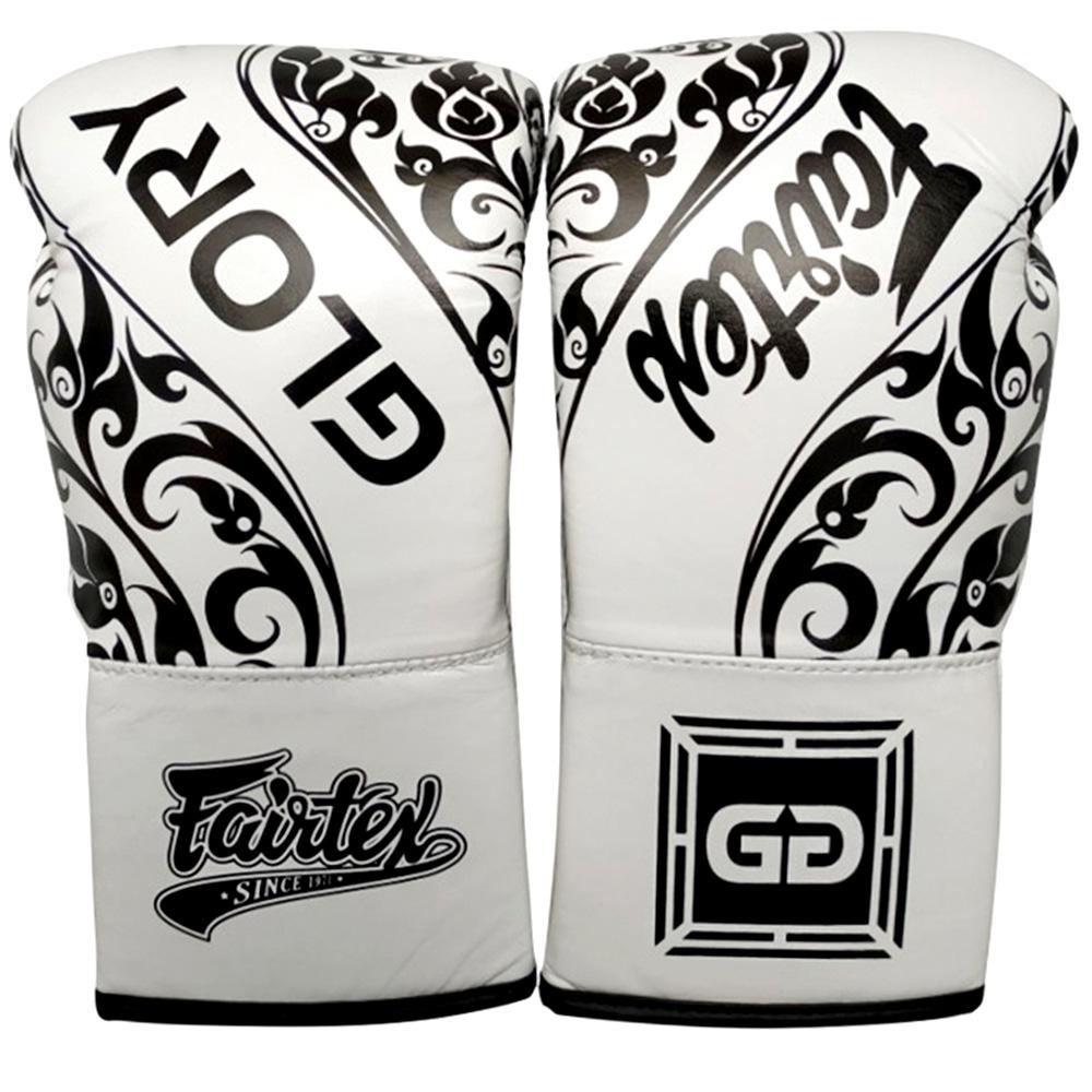 Боксерские Перчатки Fairtex Glory BGVGL2 White Шнурки