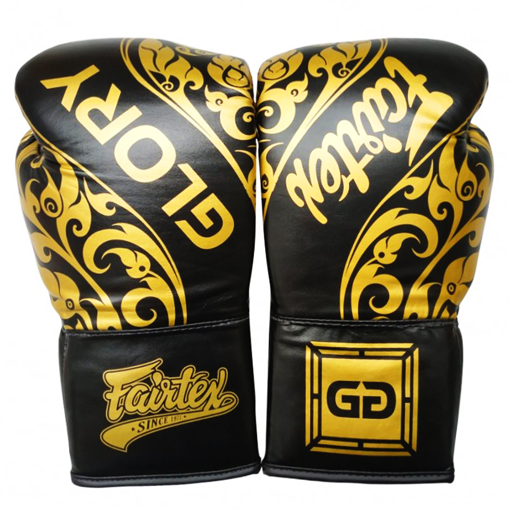 Боксерские Перчатки Fairtex Glory BGVGL2 Black Шнурки