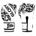 Тайские перчатки FairtexGloryBGVG2Белые Липучка