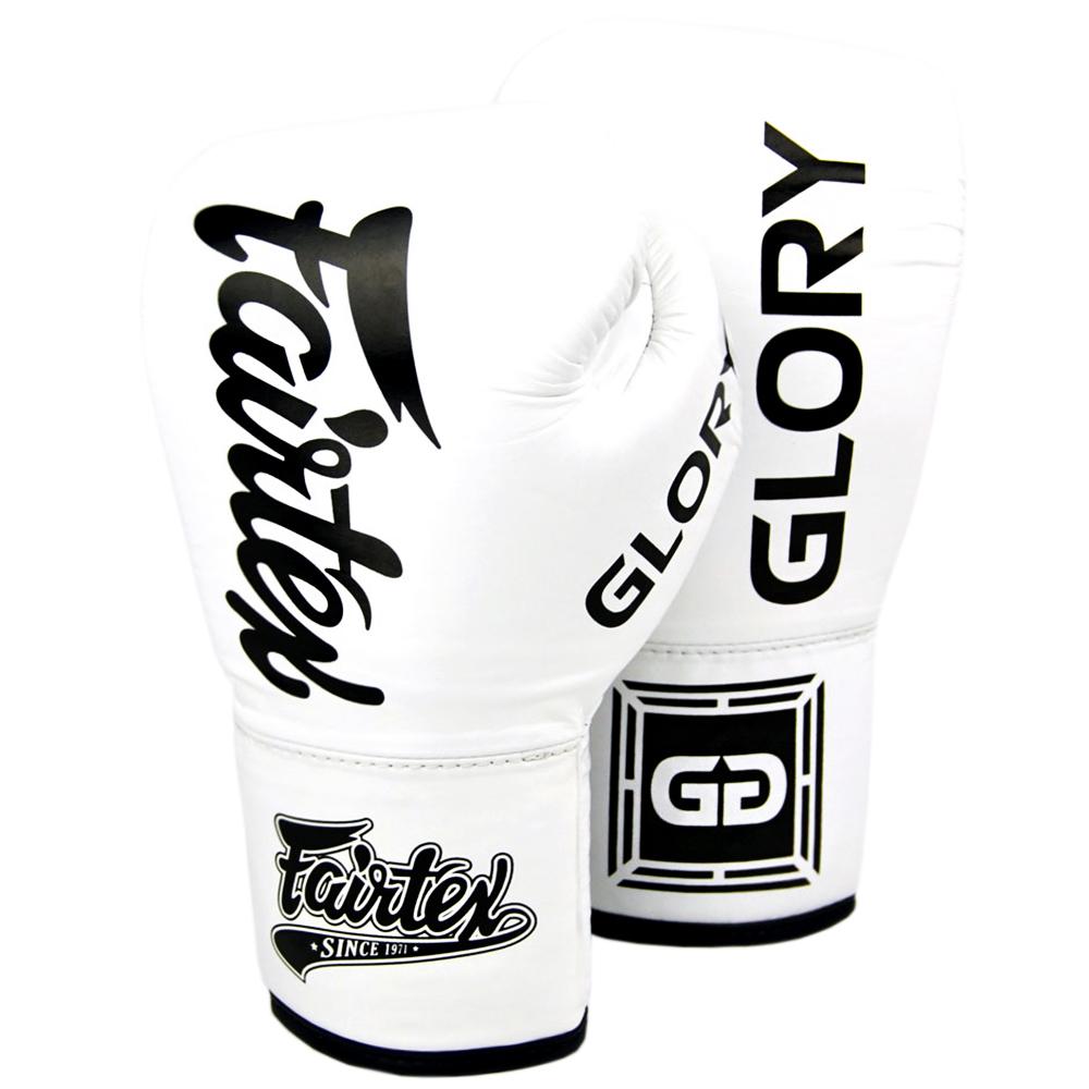 Боксерские Перчатки Fairtex Glory BGVGL1 White Шнурки