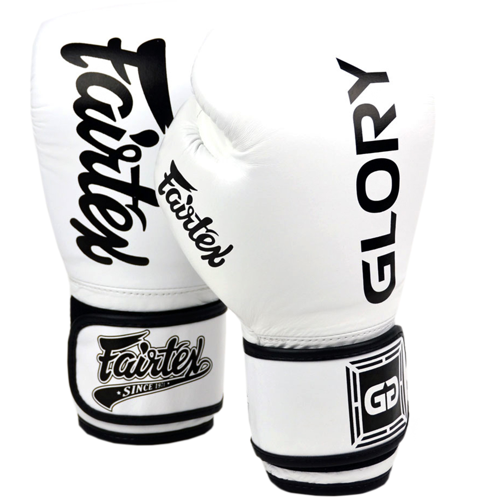 Боксерские Перчатки Fairtex Glory BGVG1 White Velcro