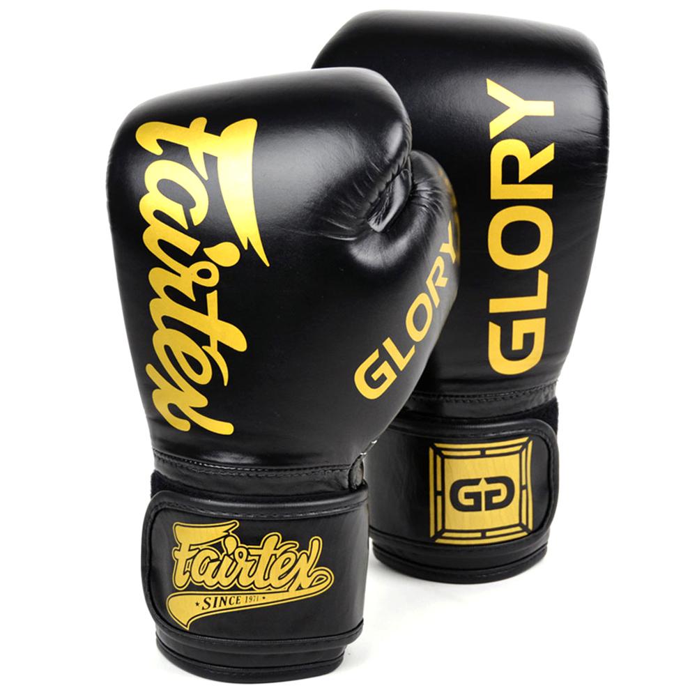 Боксерские Перчатки Fairtex Glory BGVG1 Black Velcro