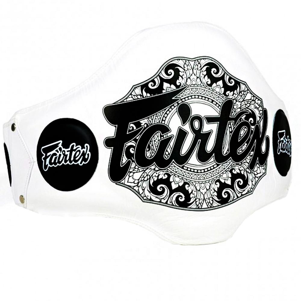 Пояс тренера FAIRTEX BPV2 Light-Weight Belly Pad Белый