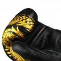 Боксерские Перчатки для тайского бокса Twins Special FBGV49 Black-Gold 12 oz