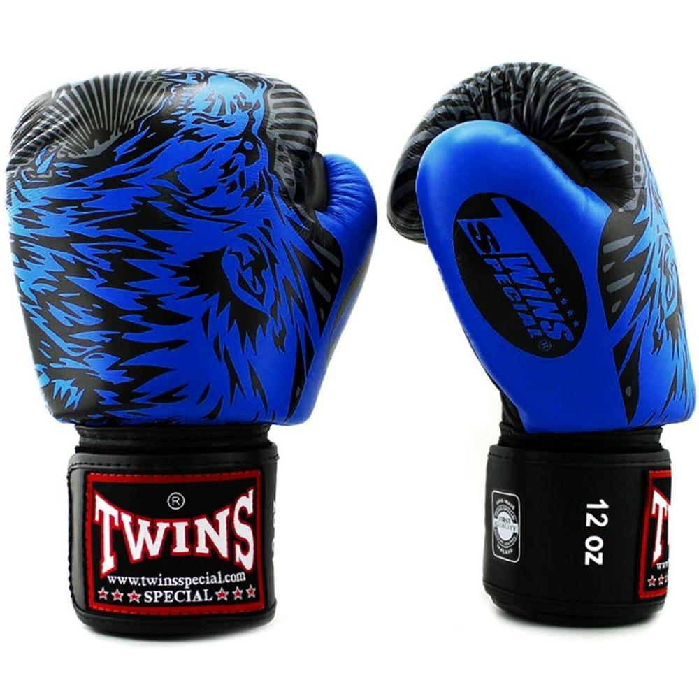 Боксерские Перчатки Twins FBGV-50 Wolf Blue