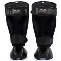 Защита голени стопы кикбоксинга Fairtex SP7 Twister Черная