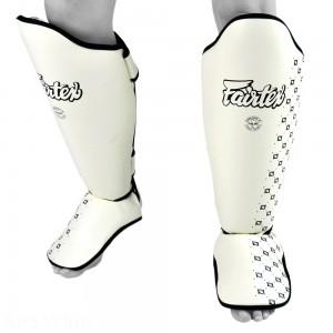 Защита голени и стопы Fairtex SP5 Белая