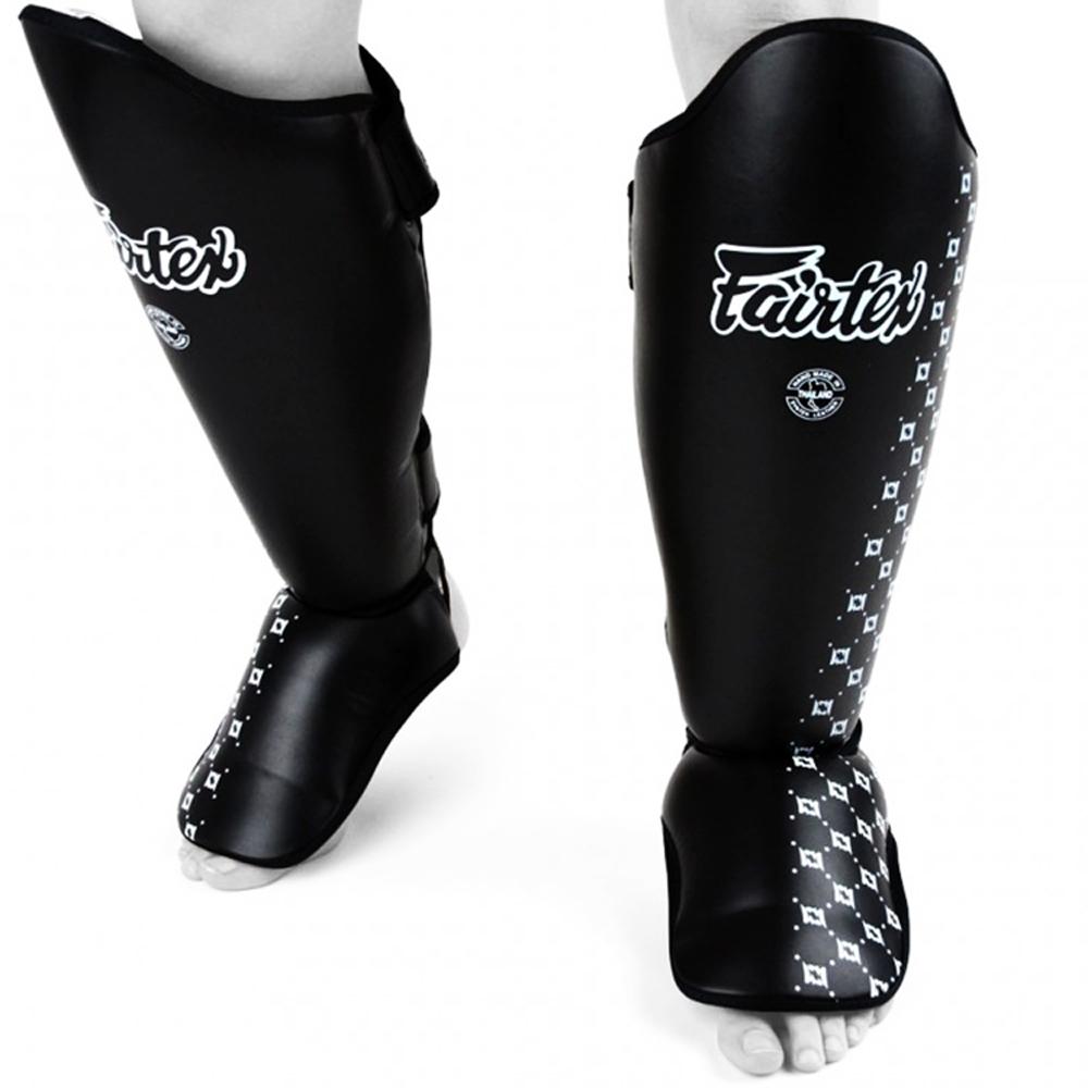Защита для ног кикбоксинг купить Fairtex SP5Черная
