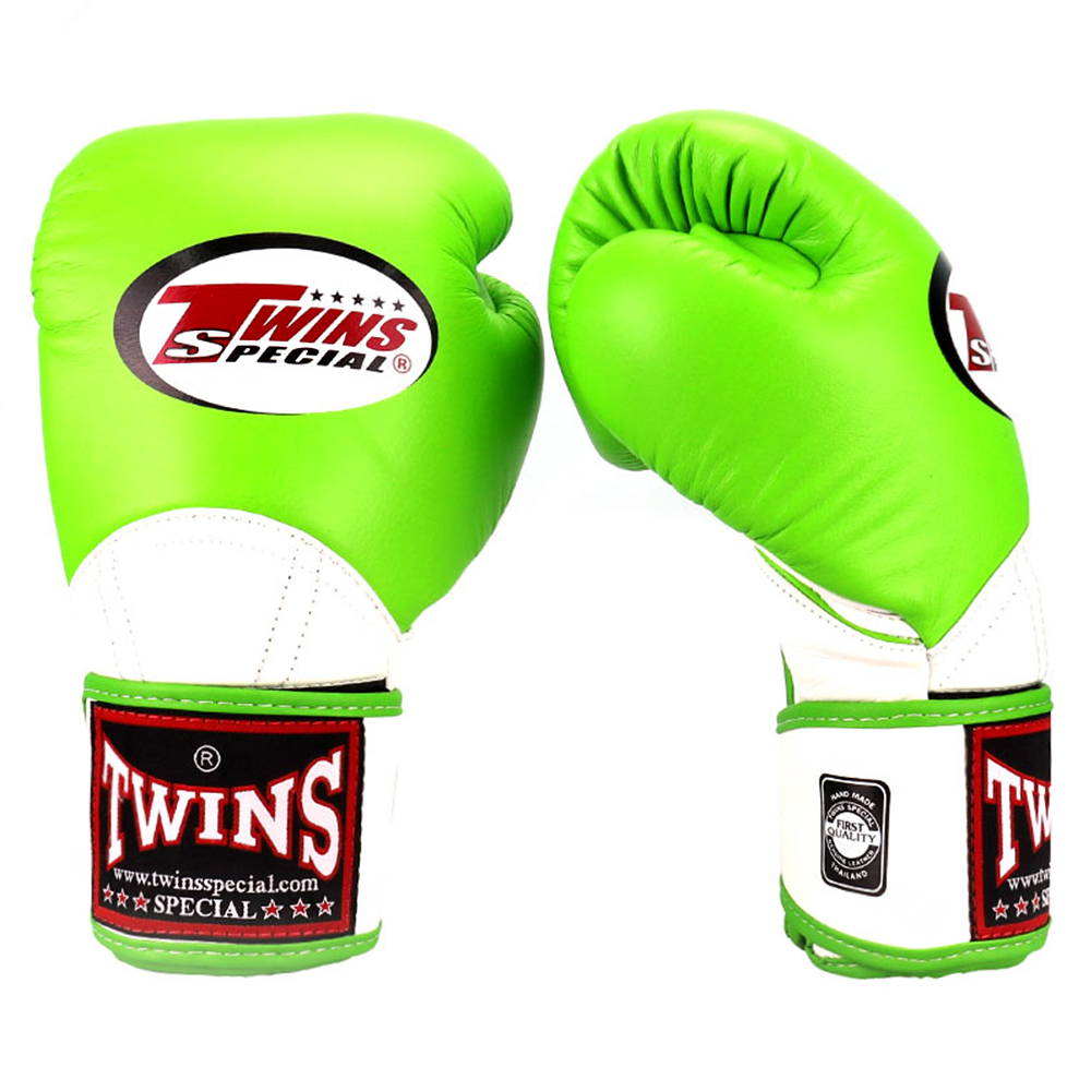 Боксерские перчаткиTWINS BGVL-11 Green-White