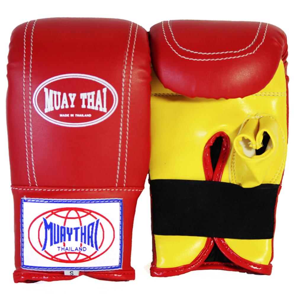 Снарядные перчатки Muay Thai Красные