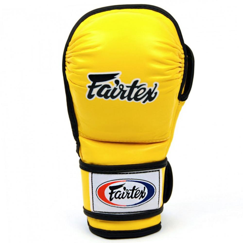Перчатки MMA Fairtex FGV15 Yellow