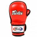 Перчатки MMA Fairtex FGV15 Red