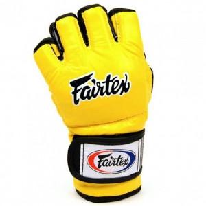 Перчатки ДЛЯ MMA Fairtex FGV12 Yellow