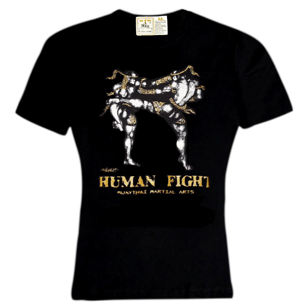 Футболка Human Fight HN-139 Black