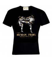 Футболка Human Fight HN-139 Black