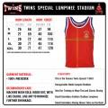 Майка TWINS TSL-1 Red Lumpinee