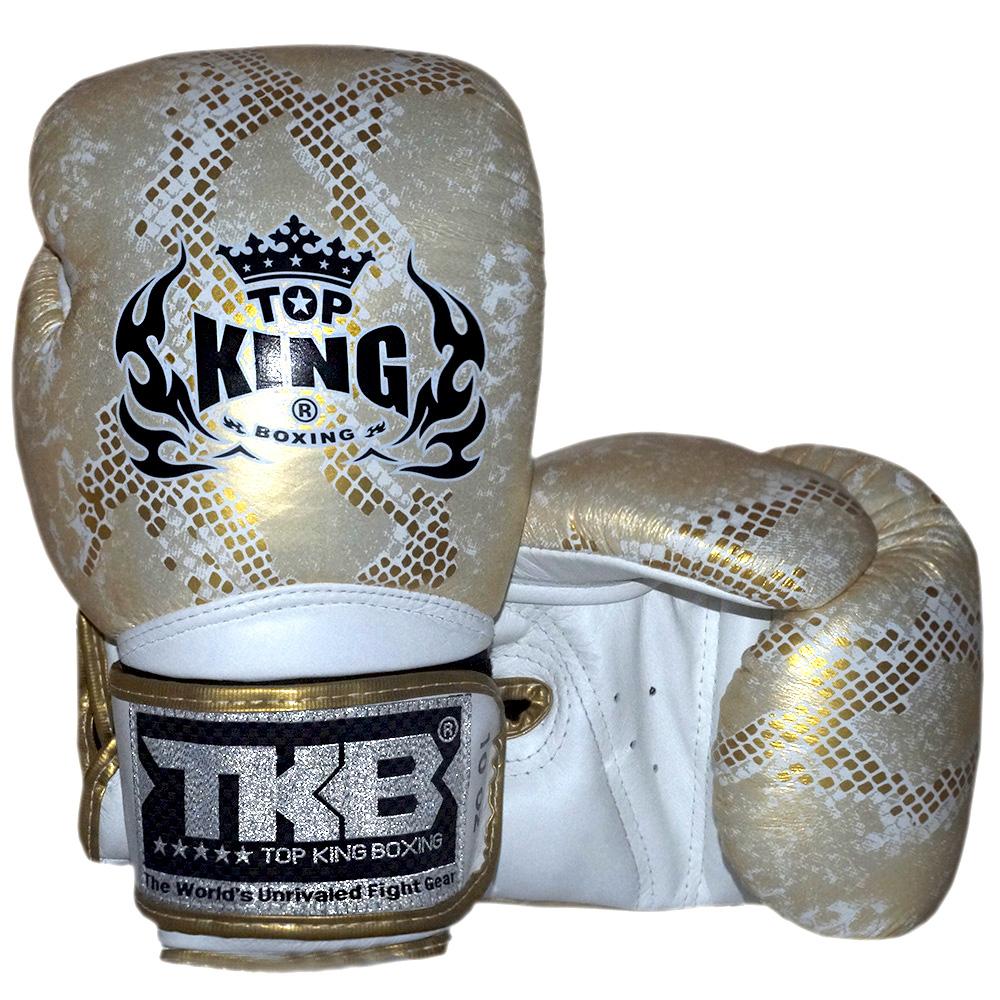 Боксерские Перчатки Top King TKBGSS-02 GD White