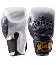 Боксерские Перчатки Детские TOP KING Silver